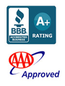 BBB A+ Rating and AAA Approved